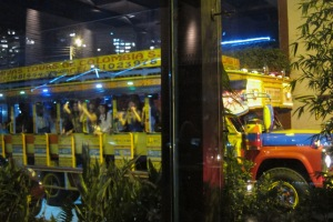 Bogota Nightlife - 'Bus party'
