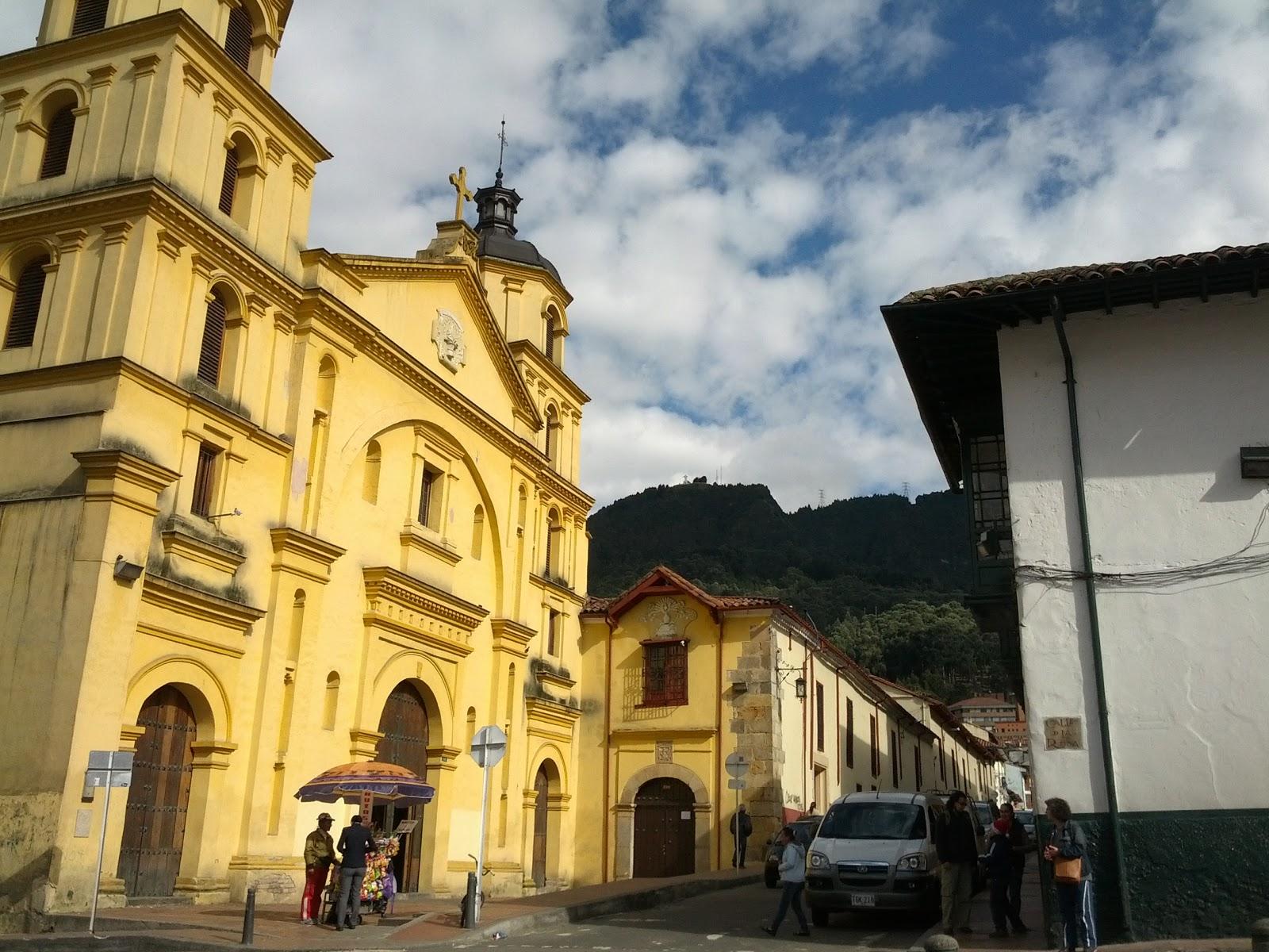 La Candelaria, the colonial historical centre in Bogota